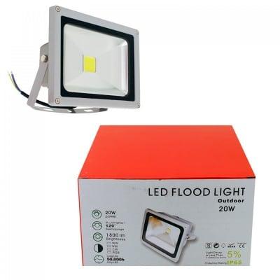 LED Прожектор с непромокаем корпус * 20W, COSMOPOLIS