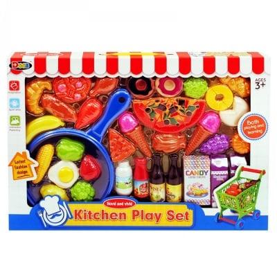 Комплект тиган, пица, продукти и аксесоари, COSMOPOLIS
