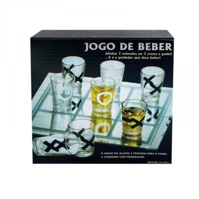 Стъклен морски шах с чашки