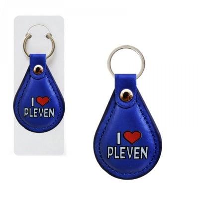 """Ключодържател """"I love PLEVEN"""""""