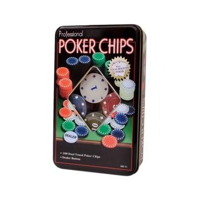 Покер /100 чипа/