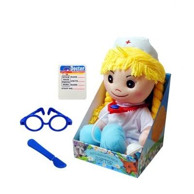 """Кукла - Разказвач """"Докторка с аксесоари"""""""