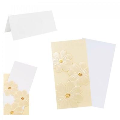 Поздравителна картичка Цветя от перлена хартия, COSMOPOLIS