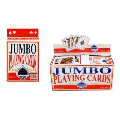 Карти за игра - пластик Джъмбо