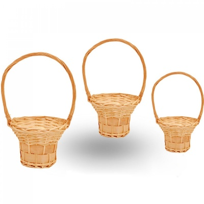 Кръгли кошници - 3 бр., COSMOPOLIS