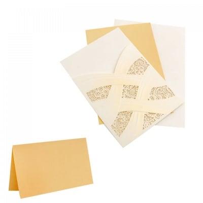 Лазерно изрязана поздравителна картичка, COSMOPOLIS