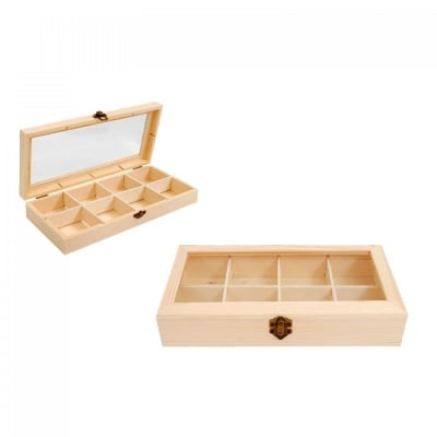 Кутия за чай с 8 разделения, COSMOPOLIS