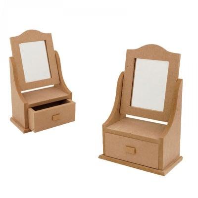Бижутерка с  чекмедже и огледало