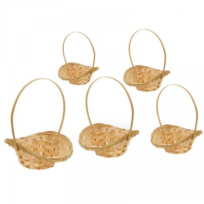 Комплект от 5 кошници, различни размери, COSMOPOLIS