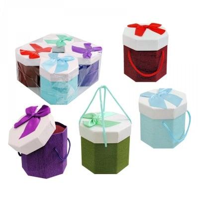 Подаръчни кутии с дръжки /осмоъгълни/
