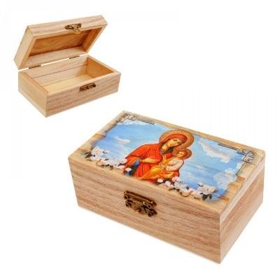 """Кутия """"Св. Богородица с Младенеца"""""""