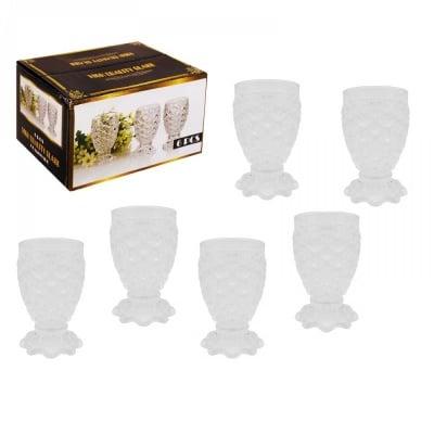 Чаши за ракия - релефно стъкло, COSMOPOLIS