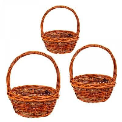 Комплект кошници - 3 броя - различни размери, COSMOPOLIS