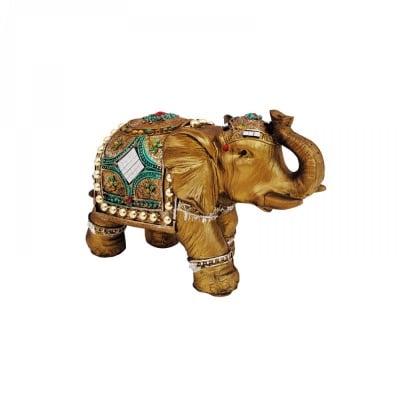 Слон с орнаменти