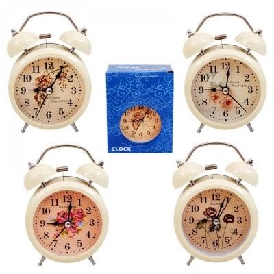 Настолен часовник с будилник /със светлина/