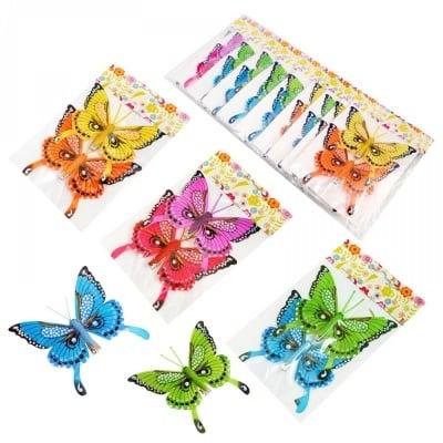 Две пеперуди с клипс