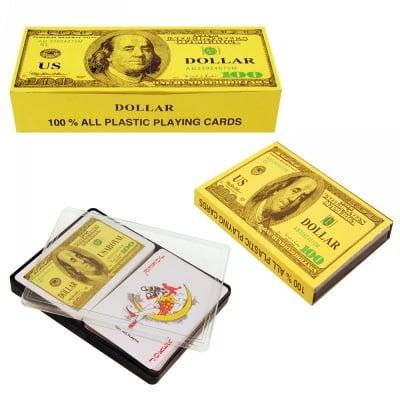Комплект 2 тестета карти 100 DOLLAR