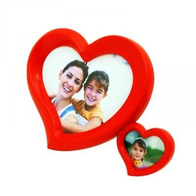 Фоторамка за 2 снимки Сърца