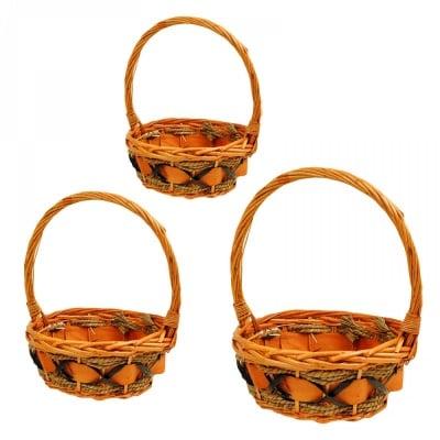 Комплект кошници /кръгли/- 3 броя