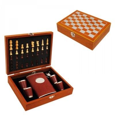 Комплект Шах с манерка, 4 чашки и фунийка