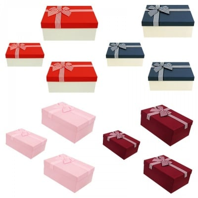 Луксозна подаръчна кутия 3 в 1 /правоъгълна/