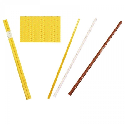 К-кт 2 броя опаковъчна хартия - точки / 100 см. х 70 см./