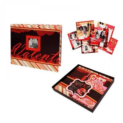 Kрафт албум Love с материали за декорация