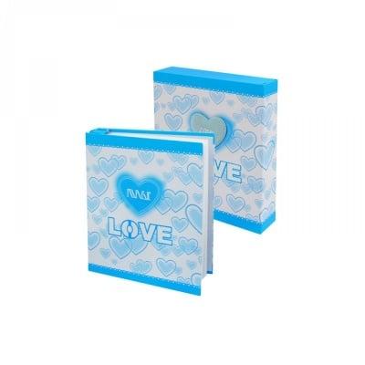 """Фотоалбум в кутия """"Love"""""""