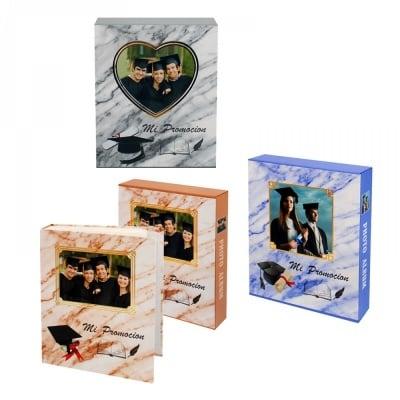 Фотоалбум в кутия Дипломиране за 80 снимки