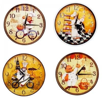 Стенен часовник Готвач