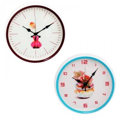 Стенен часовник  - Ф 35 см. х 5 см.