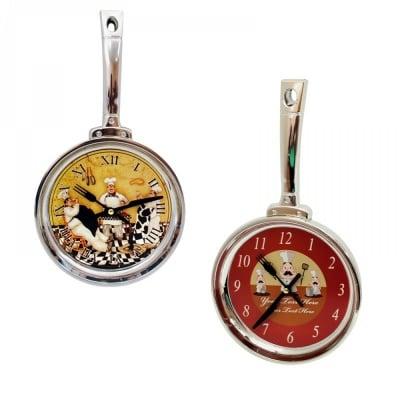 Стенен часовник Тиган - 37 см. х 20 см. х 4 см