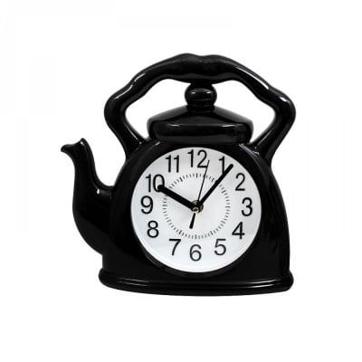 """Часовник """"Чайник"""" /черен/"""