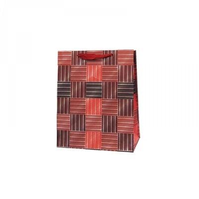 Подаръчна 3D торбичка /червен/