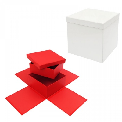 Подаръчна кутия Албум - Изненада на две нива