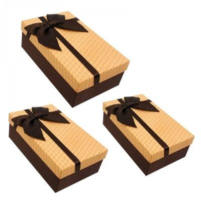 Подаръчна кутия 3 в 1 /правоъгълна/