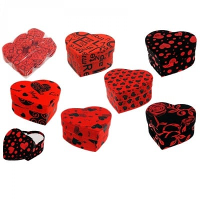 """Подаръчна кутийка """"Сърце"""""""