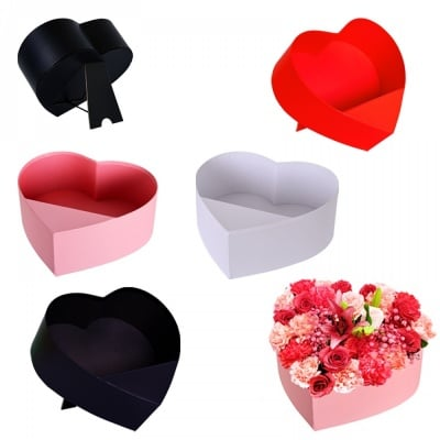 Настолна подаръчна кутия Сърце /отворена/