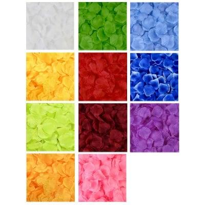 Листенца за декорация - текстил /144 броя в опаковка/