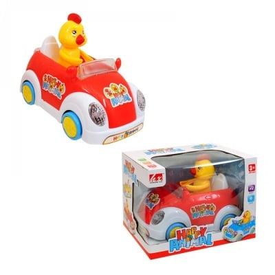 Пиле в кола
