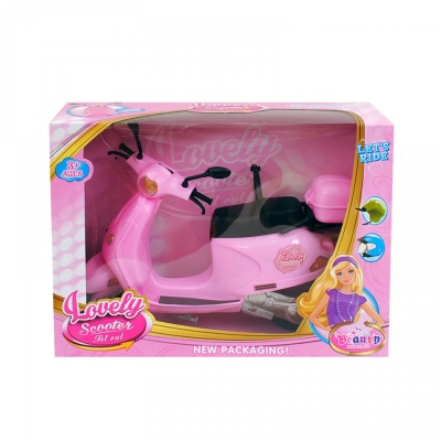 Мотопед за кукла