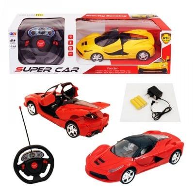 Симулационна състезателна кола с волан 1:18