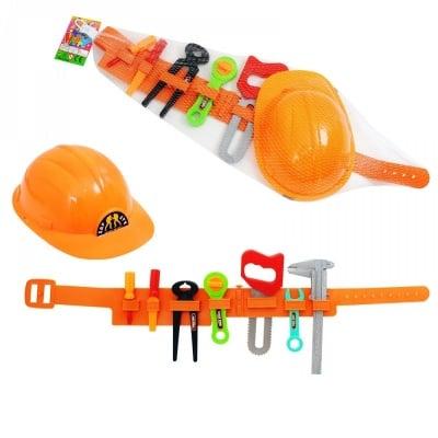 Комплект инструменти на колан с каска