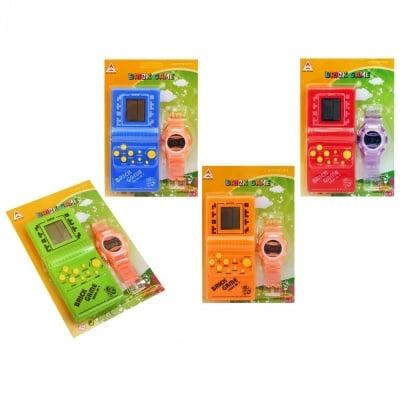 Игра - Тетрис с електронен часовник