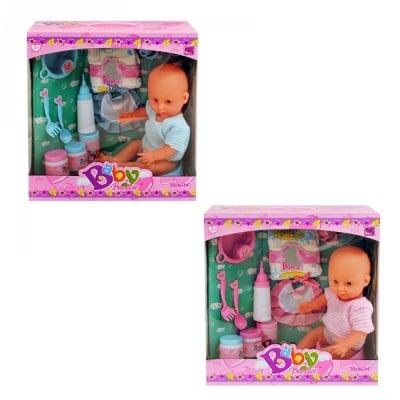 Пишкащо бебе - с памперс и други аксесоари
