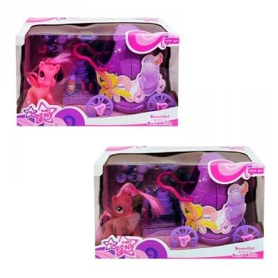 Комплект Пони с каляска и аксесоари
