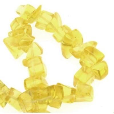 Наниз стъкло чипс 8-12 мм ~90 см