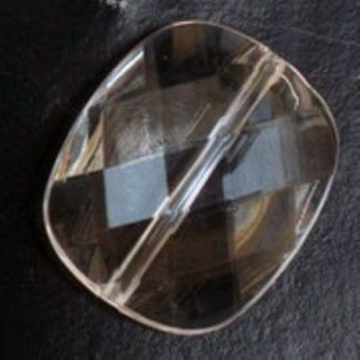 Цилиндър сплескан 30х25 мм многостен прозрачен -50 грама