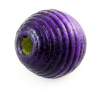 Топче дърво абак 20 мм лилаво -50 грама ~21 броя