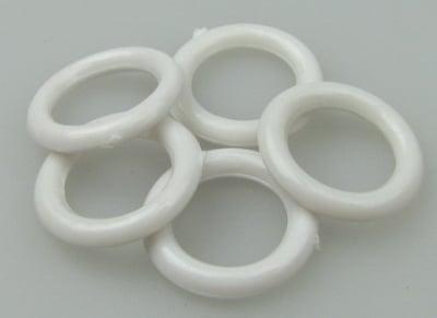 Халка 17 мм бяла -20 грама